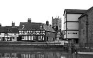 Tewkesbury, Mill Bank c.1955