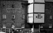 Tewkesbury, Mill Bank, The Mill c.1960