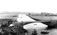 Tewkesbury, Mythe Bridge And River Severn 1891