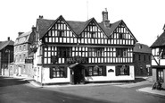 Tewkesbury, The Bell Hotel c.1955