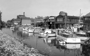 Tewkesbury, The Boatyard c.1965