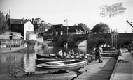 Tewkesbury, The Bridge c.1960