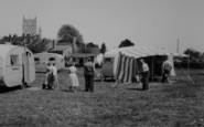 Tewkesbury, The Caravan Park c.1960