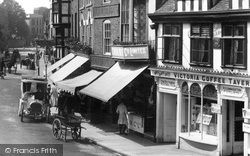 Tewkesbury, the Victoria Tea Tavern 1907
