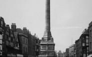 Tewkesbury, War Memorial, Church Street 1923