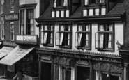 Tewkesbury, Ye Olde Willow, Church Street 1923