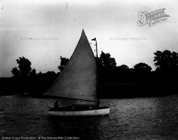 "The Broads, ""Halcyon"" c.1933"