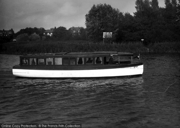 "The Broads, ""Lavengro"" c.1933"