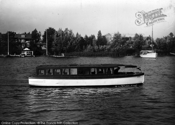"The Broads, ""Lavengro"" c.1945"