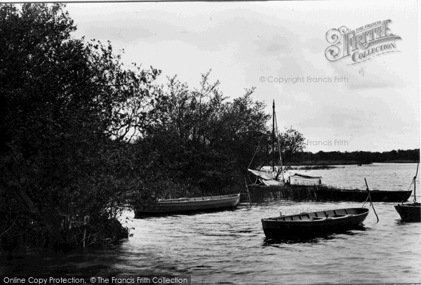 The Broads, Ranworth Broad c.1931