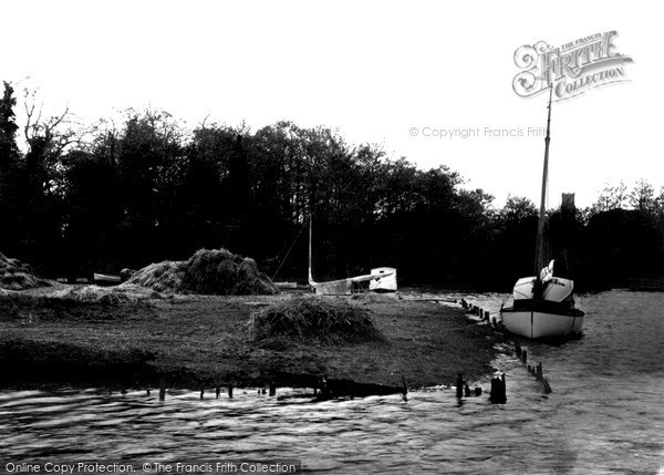 The Broads, Ranworth Broad c.1955