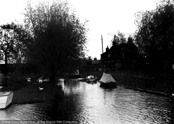 The Broads, South Walsham Broad c.1955