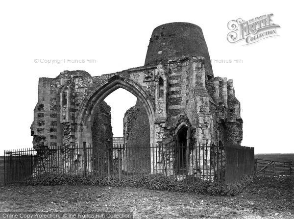 The Broads, St Benet's Abbey c.1955