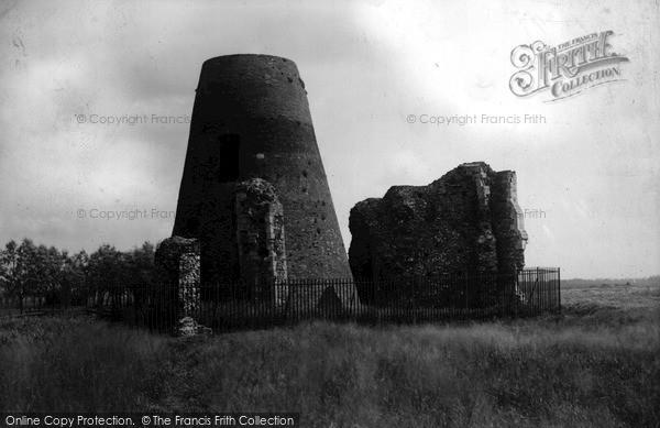 The Broads, St Benet's Ruin c.1955