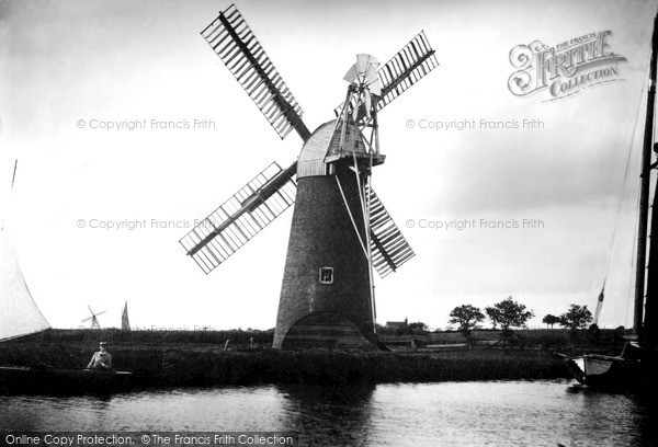 The Broads, The Mill c.1955