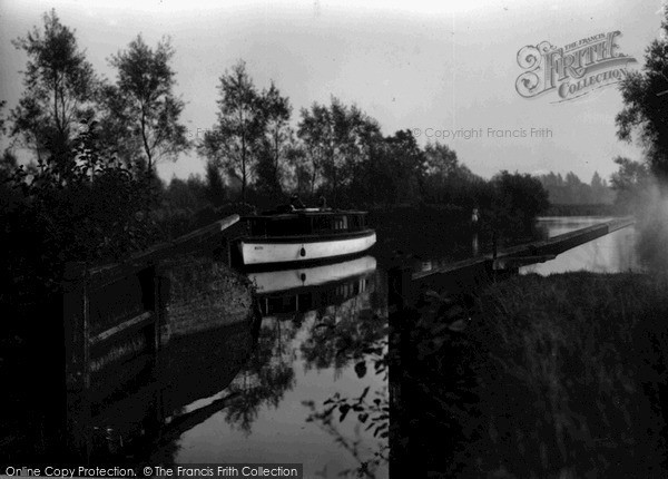 The Broads, The Old Lock c.1955