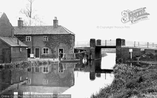 The Broads, The Pool, Wayford Bridge c.1945