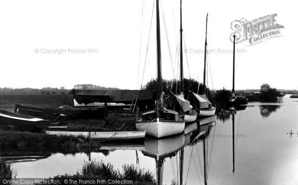 The Broads, The River At Wayford Bridge c.1955