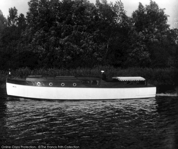 "The Broads, ""White Eagle"" c.1932"