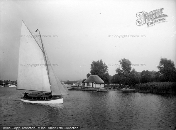 The Broads, Yachting c.1933