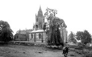 Tong, St Bartholomew's Church c.1955