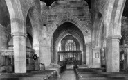 Tong, St Bartholomew's Church, Interior 1898