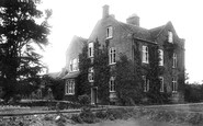 Tong, The Vicarage 1904