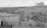 Photo of Tong, War Memorial and Reservoir c1955