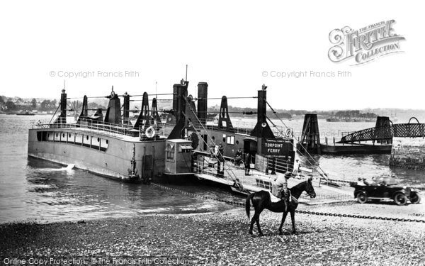 Torpoint, The Ferry 1925