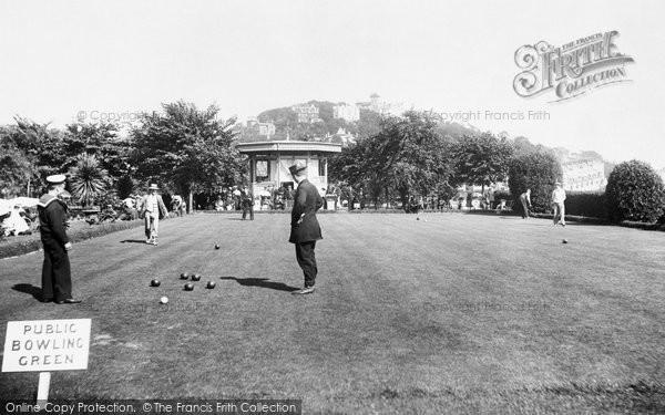 Torquay, The Bowling Green 1906