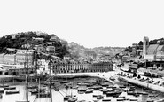 Torquay, the Harbour and Strand 1888