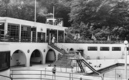 Trentham, Park Swimming Pool c1955