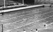 Trentham, Swimming Pool c1955