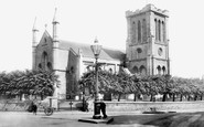 Trowbridge, Holy Trinity Church 1900