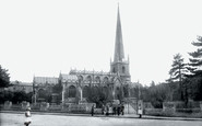 Trowbridge, St James Parish Church, North Side 1900