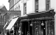 Trowbridge, The Bristol Drapery, Silver Street 1900
