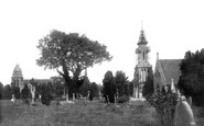 Trowbridge, The Cemetery 1900