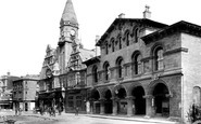 Trowbridge, Town Hall and Market House 1907