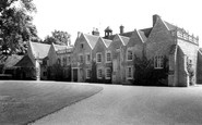 Turvey, the Abbey c1955