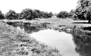 Turvey, Turvey House and the Great Ouse c1955