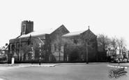Photo of Tynemouth, Church of the Holy Saviour c1955