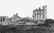 Tynemouth, the Priory c1955