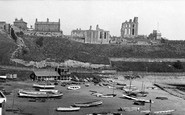 Photo of Tynemouth, the Priory c1955