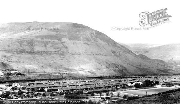 Tynewydd, Craig Y Ddellw Mountain c.1955