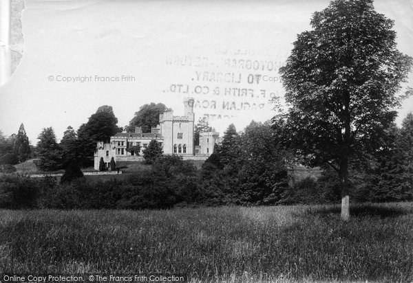 Upper Arley, The Castle 1910
