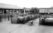 Uttoxeter, Cattle Market c.1965