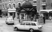 Uttoxeter, Ford Cortina Car c.1965