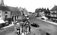 Uttoxeter, Market Place c.1955