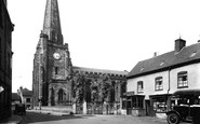 Uttoxeter, St Mary's Church c.1955
