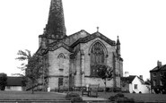 Uttoxeter, St Mary's Church c.1965